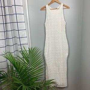 Dolce Vita Crochet Maxi Dress
